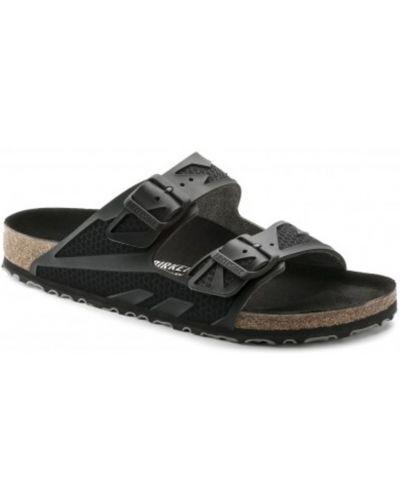 Sandały płaskie - czarne Birkenstock