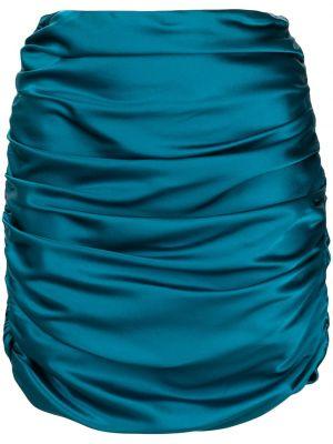 Синяя юбка мини с завышенной талией Michelle Mason