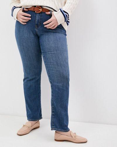 Синие прямые джинсы Lauren Ralph Lauren Woman