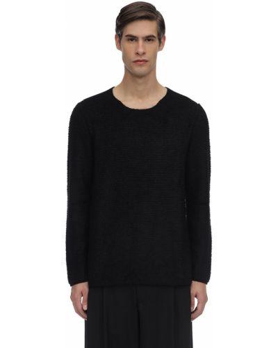 Sweter wełniany - czarny Comme Des Garcons