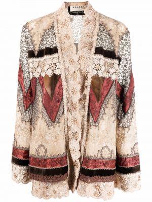 Ватная коричневая длинная куртка A.n.g.e.l.o. Vintage Cult