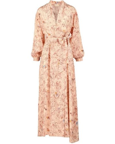 Beżowa sukienka Momoni