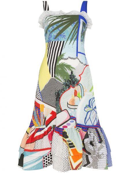 Платье с рукавами без рукавов Mary Katrantzou