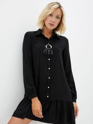 Черное весеннее платье Teratai