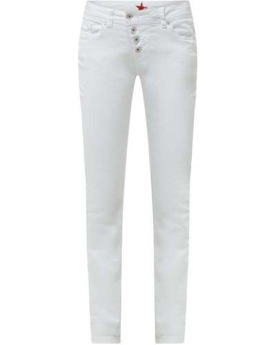 Białe jeansy bawełniane Buena Vista