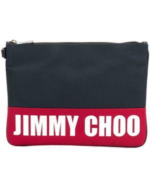 Torba sprzęgło niebieski Jimmy Choo