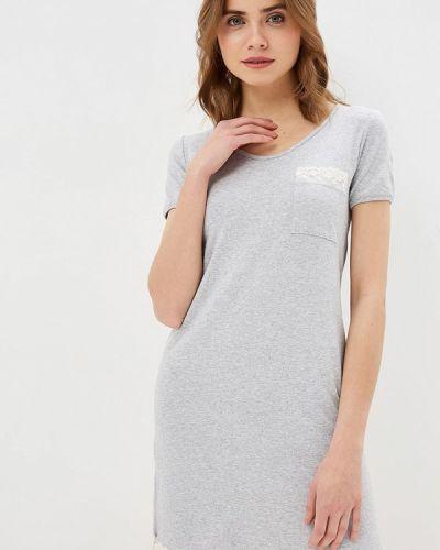 Платье серое Dianida