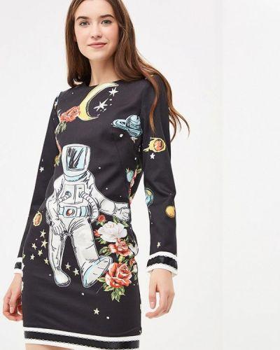 Платье осеннее прямое Danity