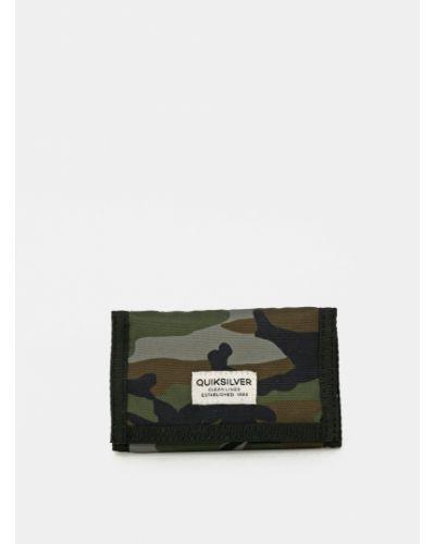 Portfel materiałowy - khaki Quiksilver