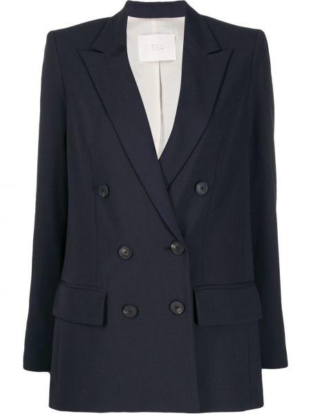 Синий пиджак Tela