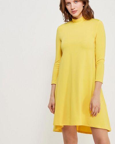 Платье осеннее желтый Ruxara
