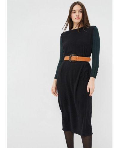 Платье свободного кроя - черное Free Age
