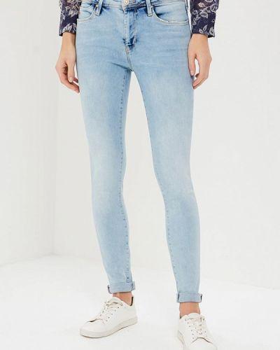 Голубые джинсы-скинни Colin's