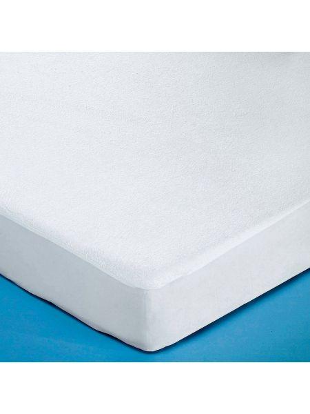 Белый чехол для матраса трикотажный La Redoute Interieurs