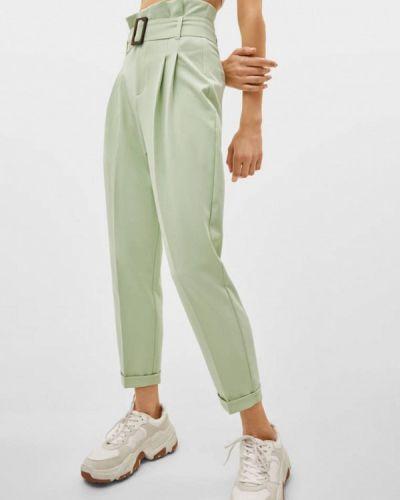Классические брюки бирюзовый Bershka