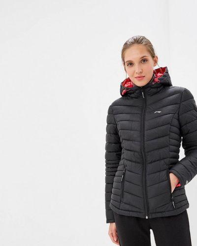 Утепленная куртка - черная Li-ning
