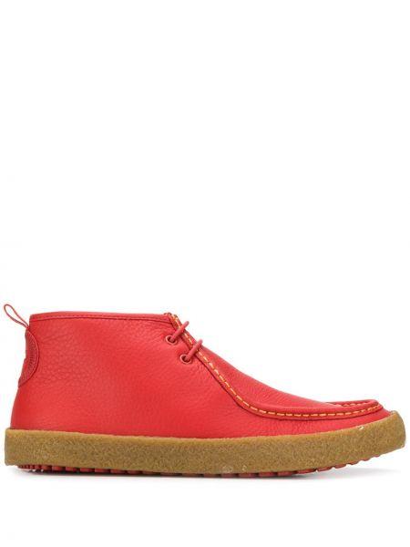 Кожаные ботинки на шнуровке Camper
