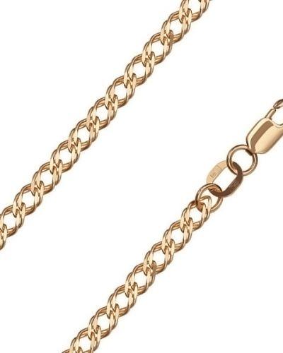 Золотой браслет с подвесками из золота двойной красцветмет