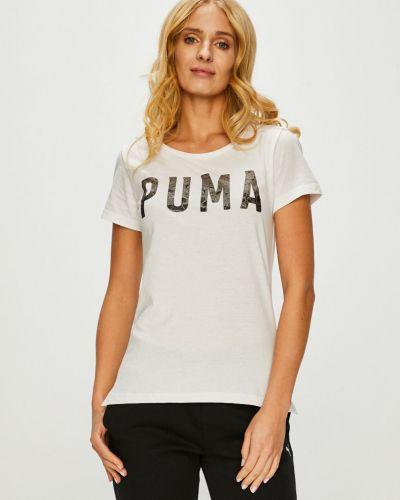 Футболка прямая хлопковая Puma