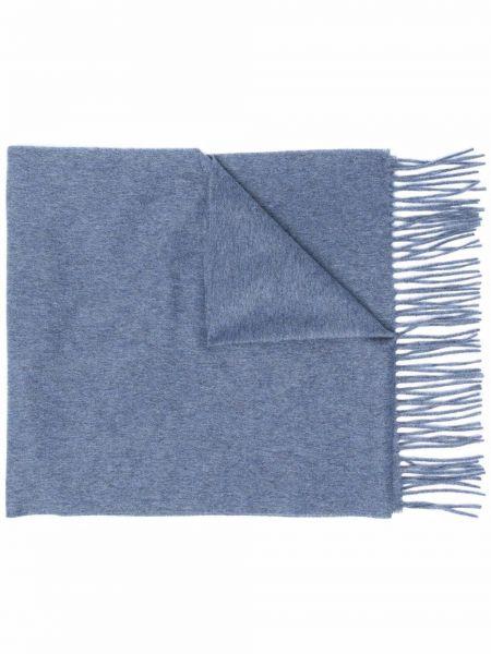Серый кашемировый шарф Corneliani