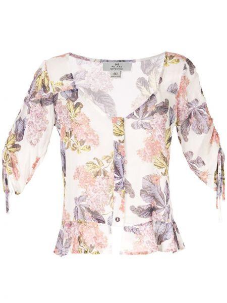 Блузка с рюшами с цветочным принтом We Are Kindred