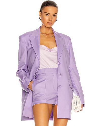 Фиолетовый пиджак с карманами на пуговицах Gauge81