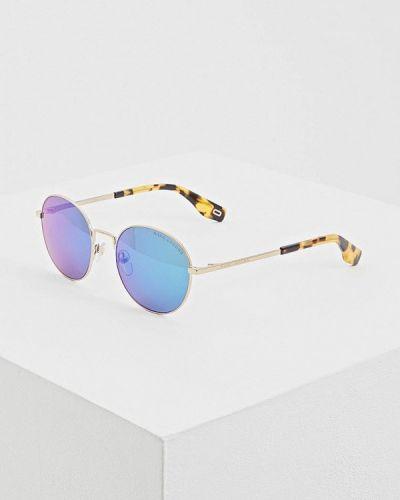 Солнцезащитные очки круглые золотой Marc Jacobs