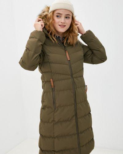 Зеленая утепленная куртка Trespass