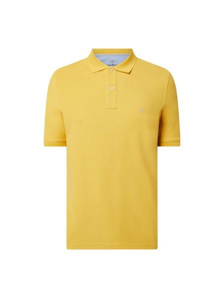 Żółty t-shirt bawełniany Fynch-hatton