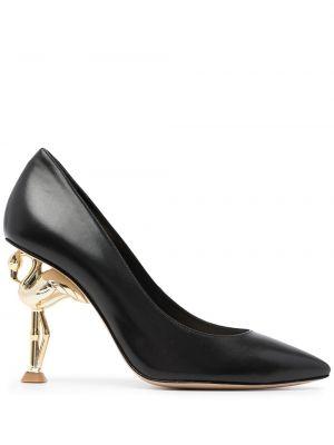 Туфли на каблуке - черные Sophia Webster