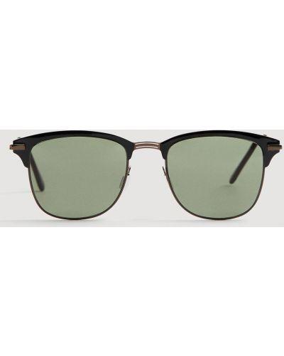 Солнцезащитные очки стеклянные металлические Mango Man