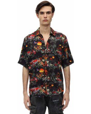 Классическая лаковая классическая рубашка с воротником из вискозы Mauna Kea