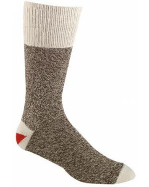 Акриловые носки - коричневые Foxriver