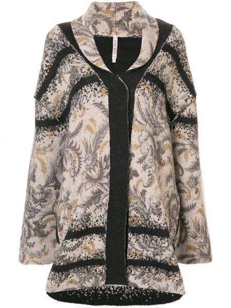 Длинное пальто с капюшоном Antonio Marras