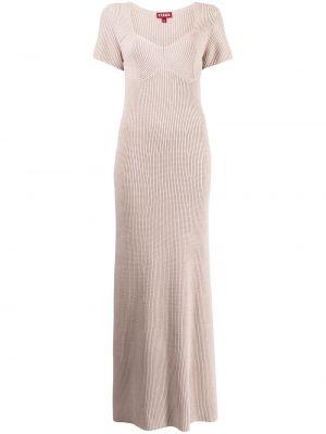 Платье макси длинное - серое Staud