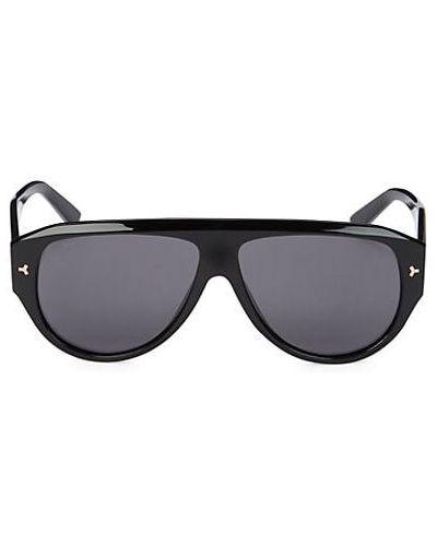 Черные солнцезащитные очки Bally