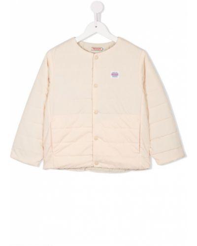 Куртка бежевый дутая Miki House