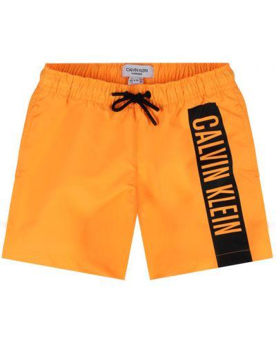 Szorty - pomarańczowe Calvin Klein Swimwear