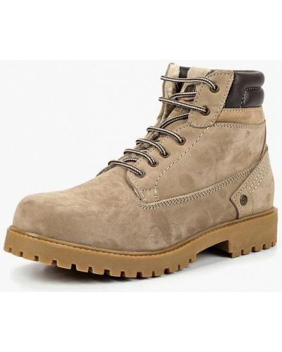 Треккинговые ботинки осенние из нубука Wrangler