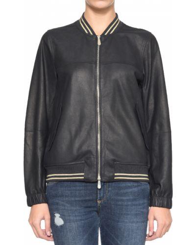 Черная куртка Peserico