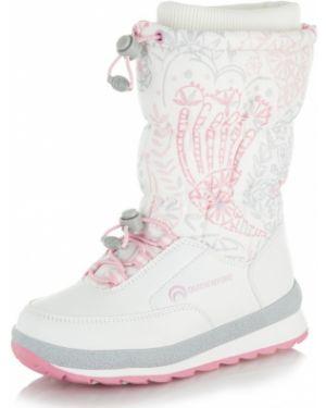 Розовые теплые зимние ботинки Outventure