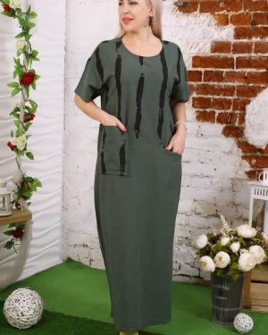 Платье льняное инсантрик