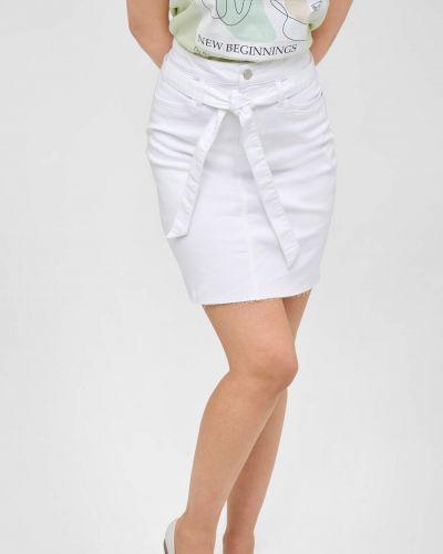 Biała spódnica mini bawełniana Orsay