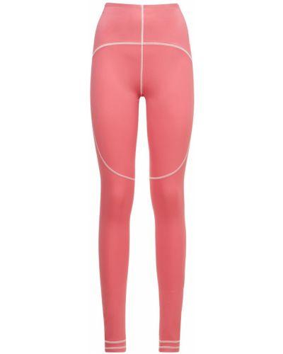 Rajstopy - różowe Adidas By Stella Mccartney