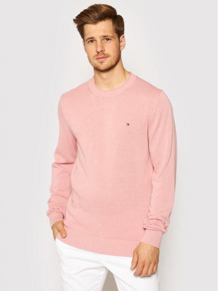 Sweter - różowy Tommy Hilfiger