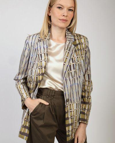 Хлопковый пиджак Manila Grace