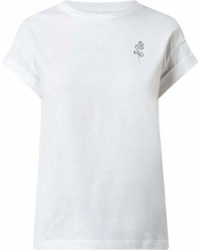 T-shirt bawełniana - biała Rich & Royal