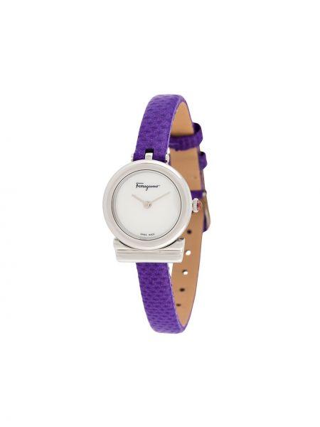 Zegarek szary fioletowy Salvatore Ferragamo Watches