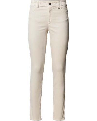 Beżowe spodnie materiałowe Marc Cain