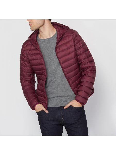 Куртка с капюшоном стеганая укороченная La Redoute Collections